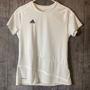 Adidas Climacool White w/Sheer Top